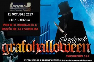 Cartel Grafohalloween 2017.