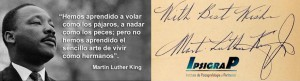 MANTIN LUTHER KING FOTO